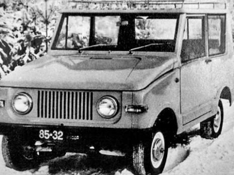 Автомобиль Иж-5.
